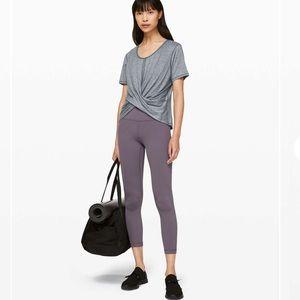 Lululemon Do the Daily Short Sleeve Heathered Grey